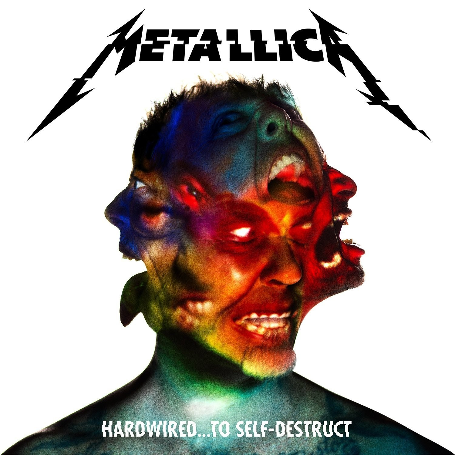 Metallica - Hardwired... To Self-Destruct - Rød vinyl