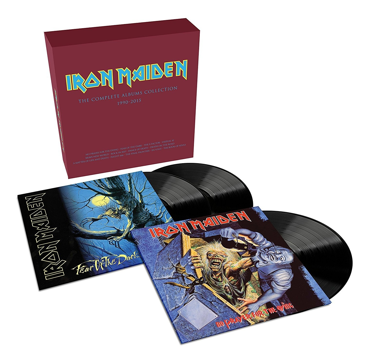 Iron Maiden - The Complete Album Collection 1990-2015