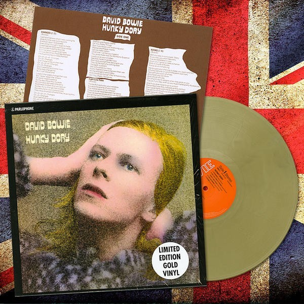 David Bowie - Hunky Dory - limited gold edition