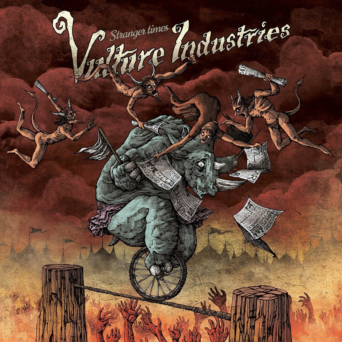 Vulture Industries - Stranger Times - limited edition