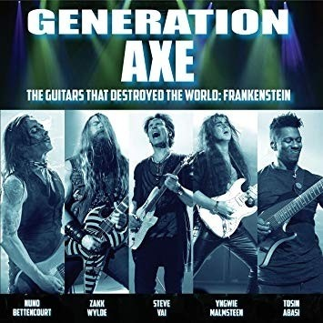 Generation Axe - Guitars That Destroyed That World ? Live In China