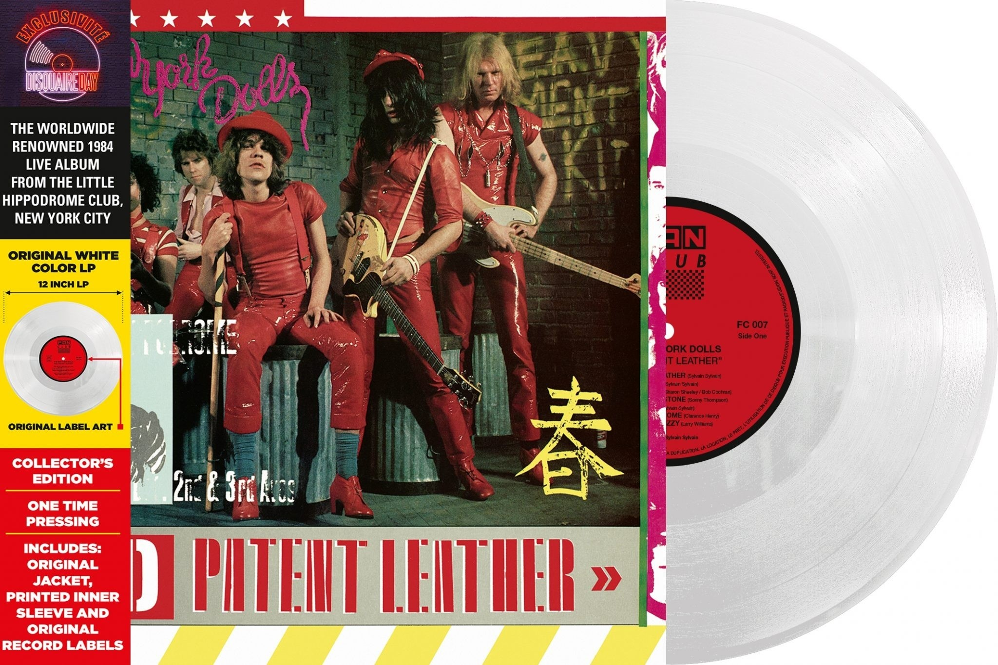 New York Dolls - Red Patent Leather