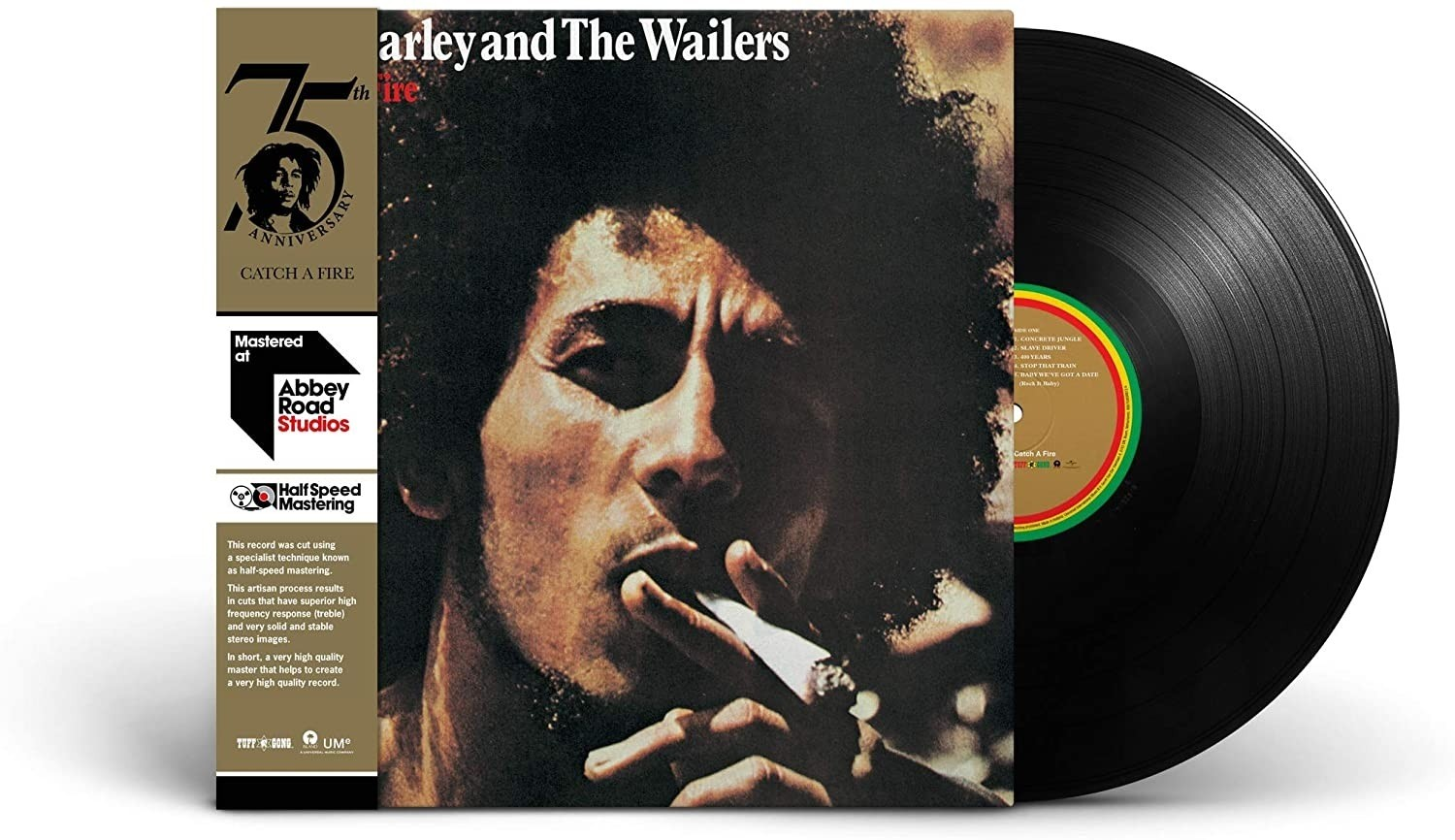Bob Marley And The Wailers - Catch A Fire - Half Speed Master