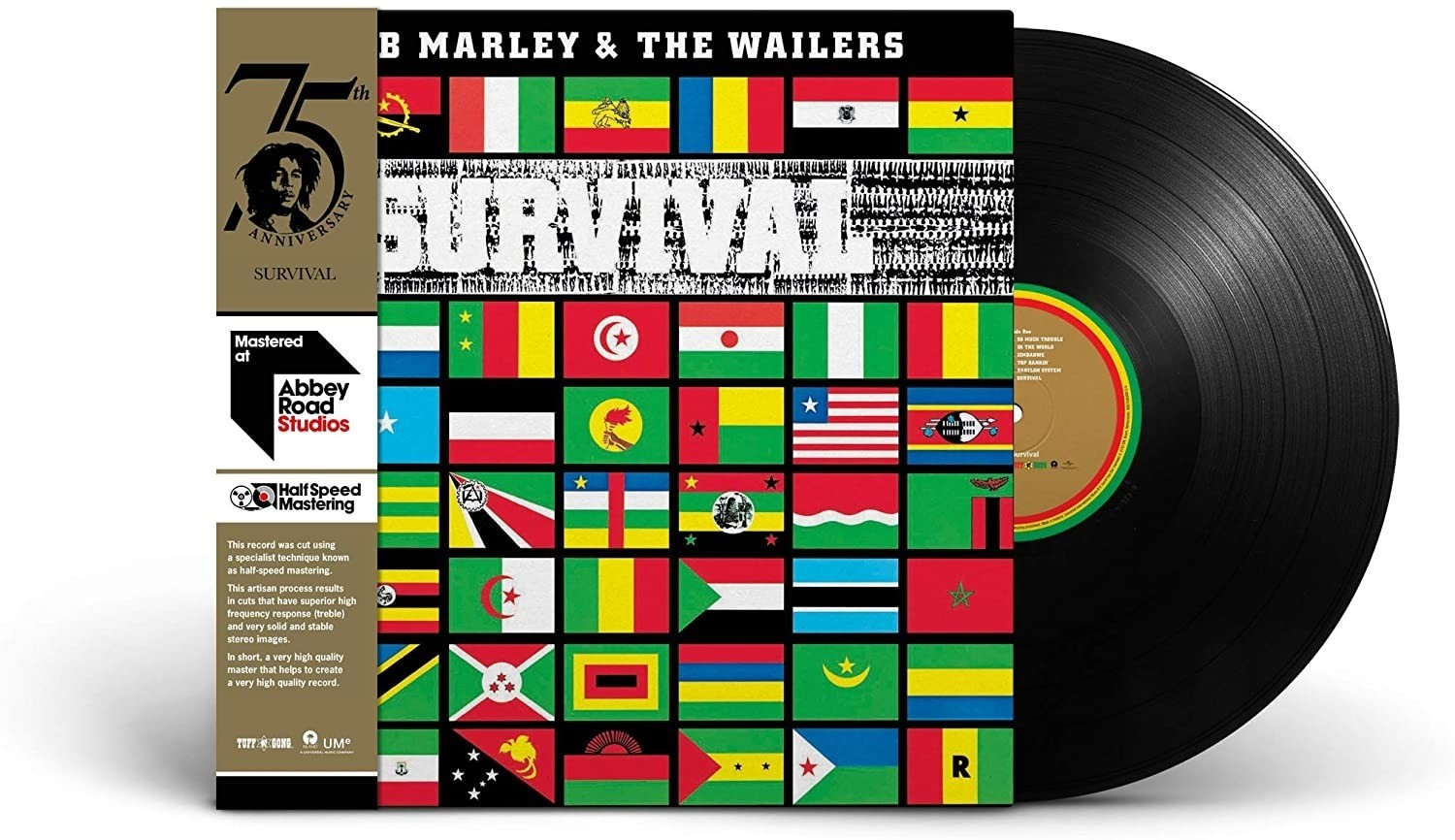 Bob Marley And The Wailers - Survival - Half Speed Master