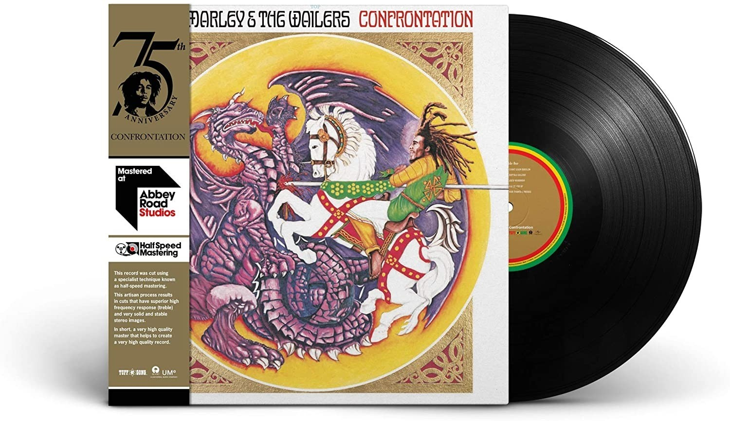 Bob Marley And The Wailers - Confrontation - Half Speed Master