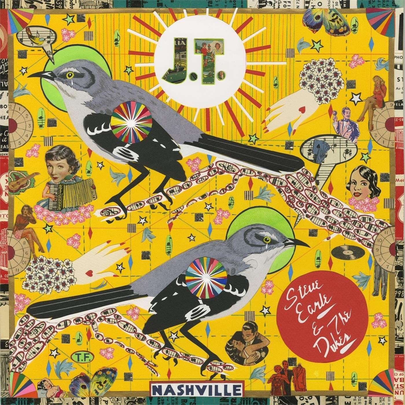 Steve Earle And The Dukes - J.T. - Red