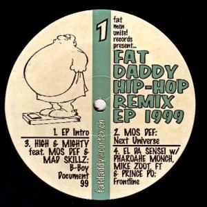 Fat Daddy - Fat Daddy Hip-Hop Remix EP 1999
