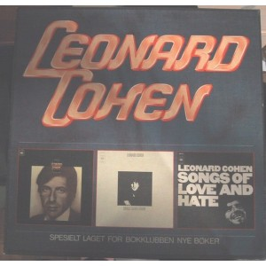 Leonard Cohen - Songs Of../Songs From A Room/Songs Of Love And Hate