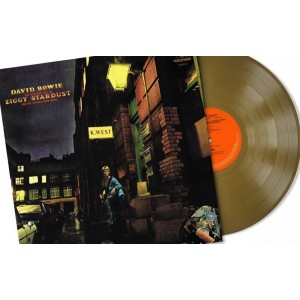 David Bowie - The Rise and Fall of Ziggy Stardust and the Spiders from Mars limited gold edition