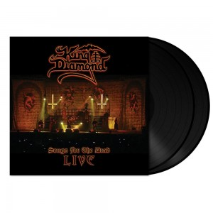 King Diamond - Songs for the Dead Live (Svart vinyl)