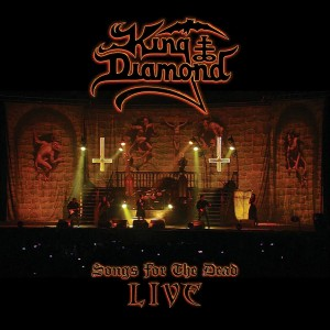 King Diamond - Songs for the Dead Live (Farget vinyl)