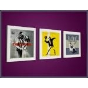 Play And Display - Play And Display Flip Frame - 3-Pack Hvit