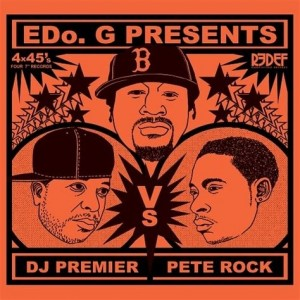 EDo. G - DJ Premier VS Pete Rock 4x7'