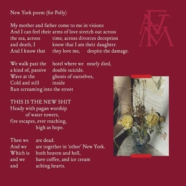 Florence and the Machine - Sky Full of Song/New York Poem